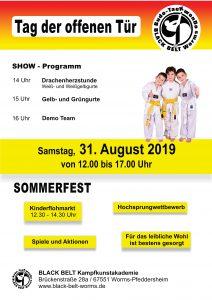 Sommerfest & Tag der offenen Tür